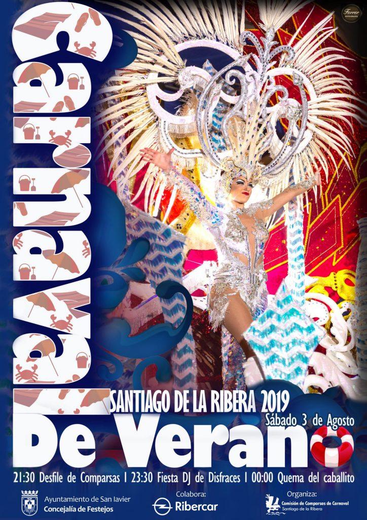 cartel del carnaval de verano