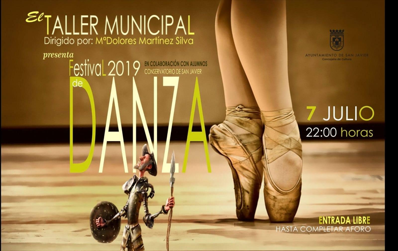 cartel del festival de la danza