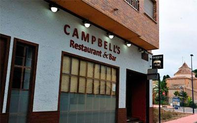 restaurante bar campells
