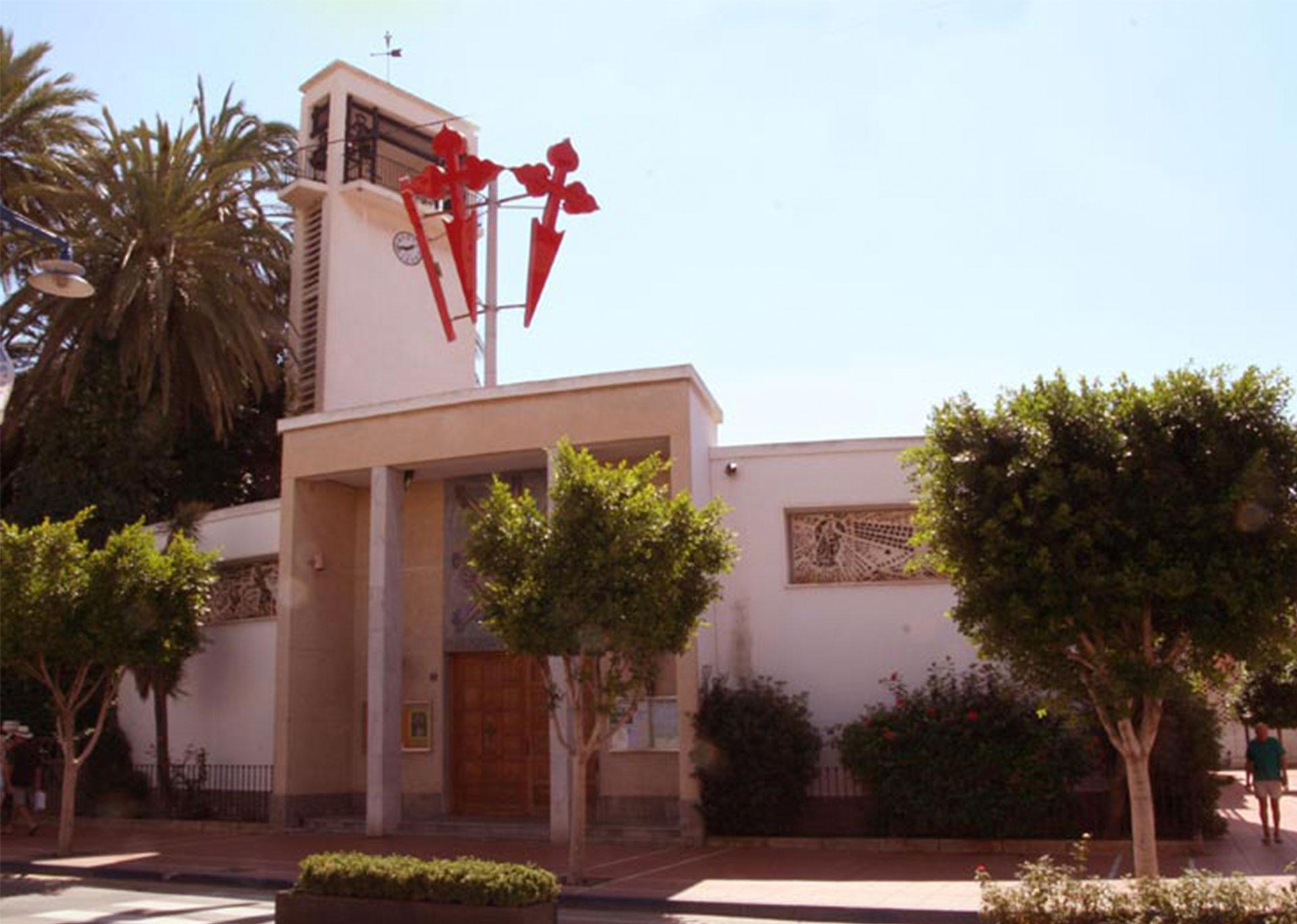 Imagen de la iglesia de santiago de la ribera