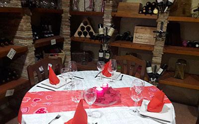 restaurante rincón del vino